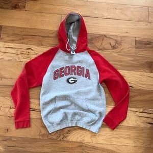 Tops - University of Georgia UGA Hoodie Sweatshirt Medium